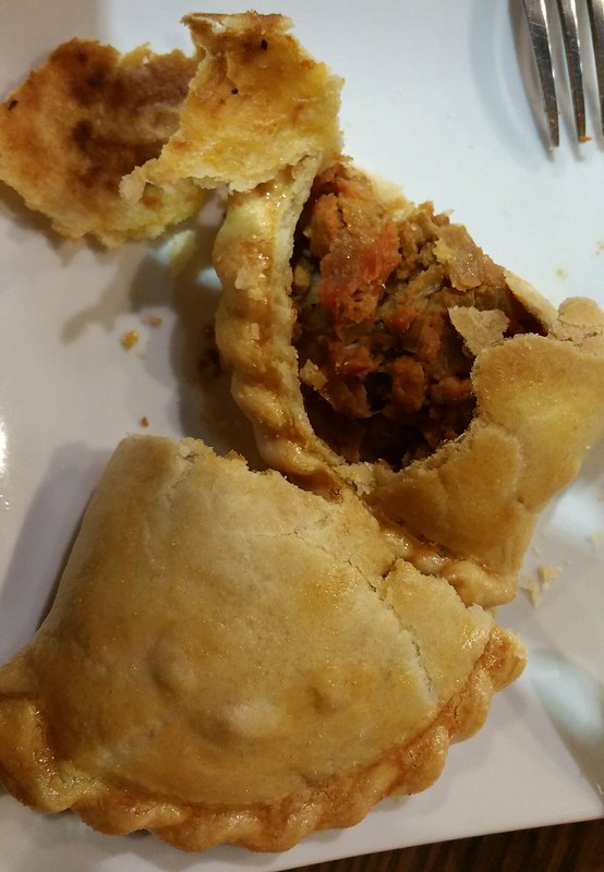 2016-Jan-20 Silvestre - chicken empanada (filling)