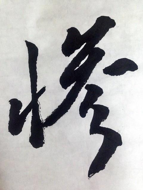 第七届年度西安汉字:惨