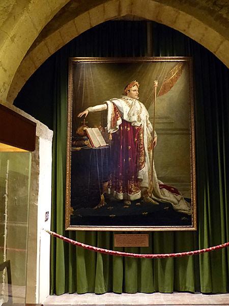 napoléon à salon