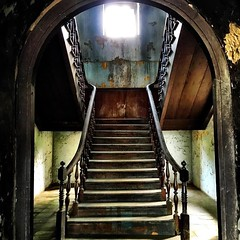 #staircase inside the old customs house #bangkok