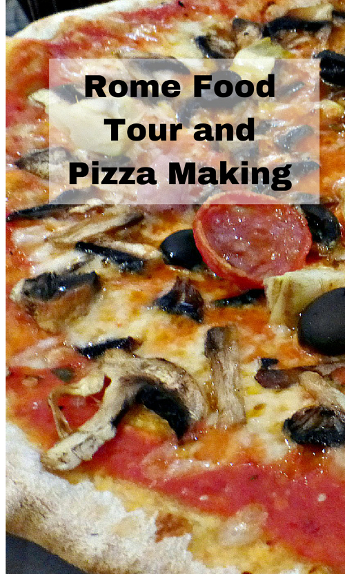 Rome Food Tour and Pizza Making