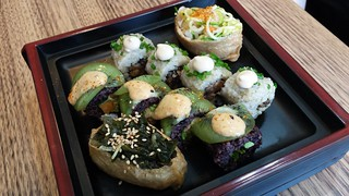 Combo Platter from Superfoods Sushi