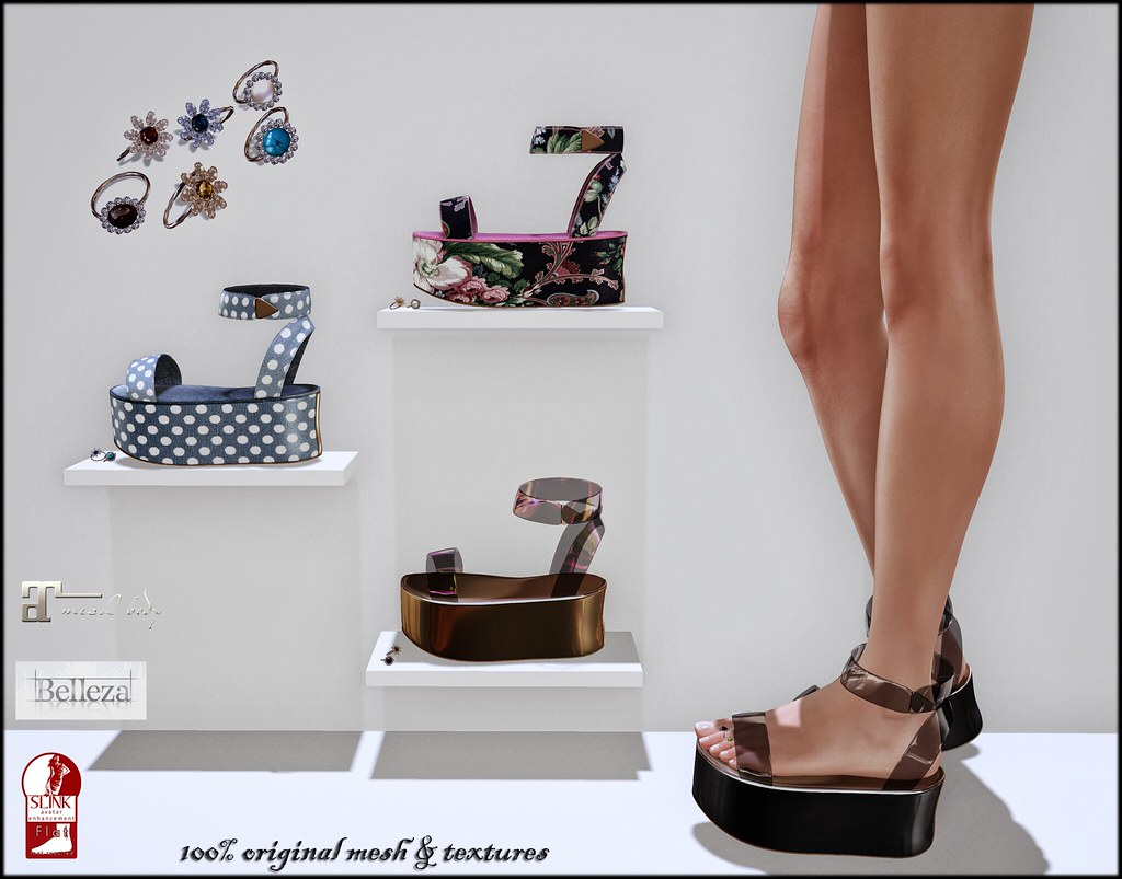 Clair sandals and toe rings by ChicChica OUT@ Lost & Found