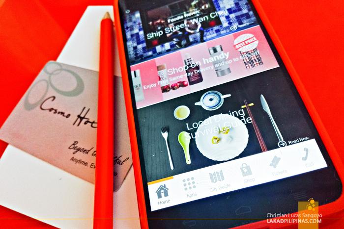 Cosmo Hotel Wan Chai Smartphone