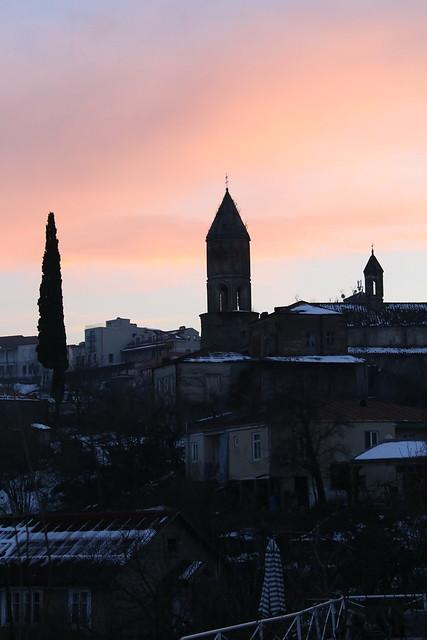 Sunset, Signagi