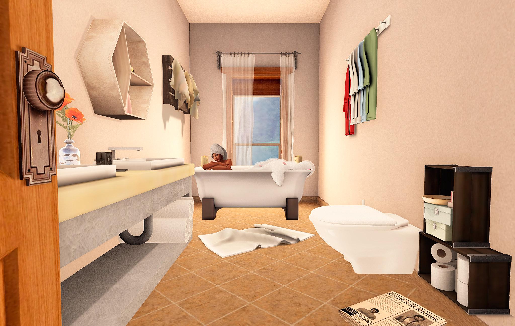 Schultz Bros_Roosevelt Skybox Bathroom