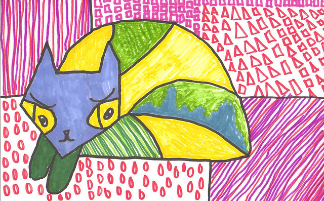 britto cat - rafe