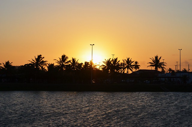 Pôr do Sol na Orla de Atalaia, Aracaju - SE {janeiro 2016}