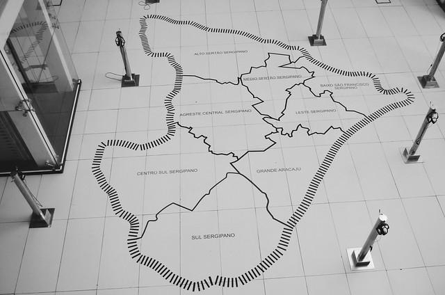 mapa de sergipe