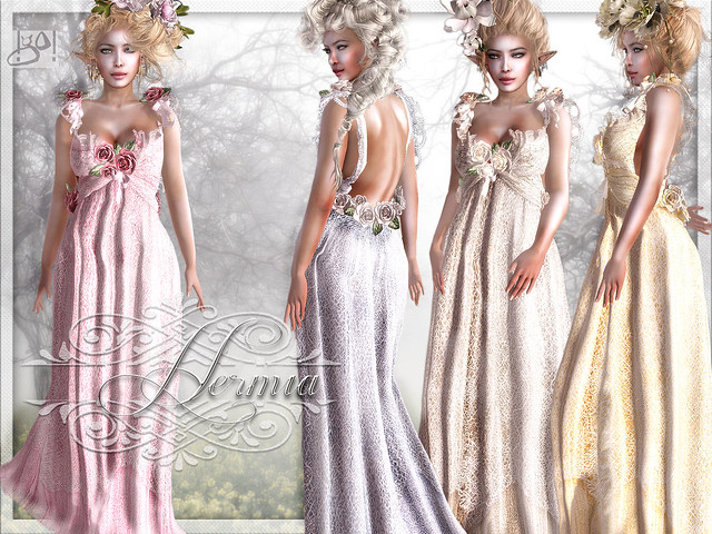 !gO! Hermia gown - vendor