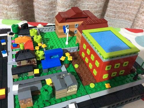 Cherie Patrick: School/Residential Block Dinc Grin: Apartment Block