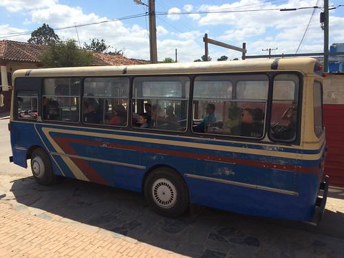 Viñales: un bus pour locaux