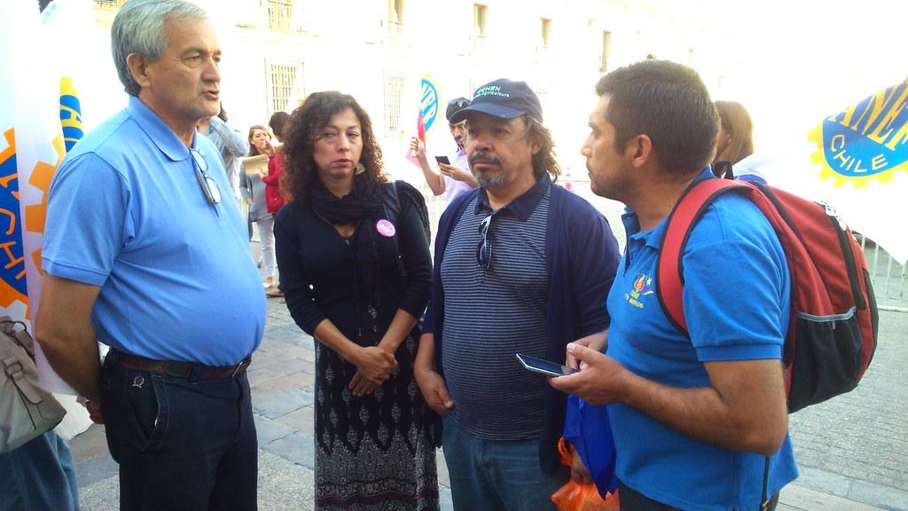 AFSAG en Banderazo en respaldo Paro Indefinido Atacama - 11 Marzo 2016