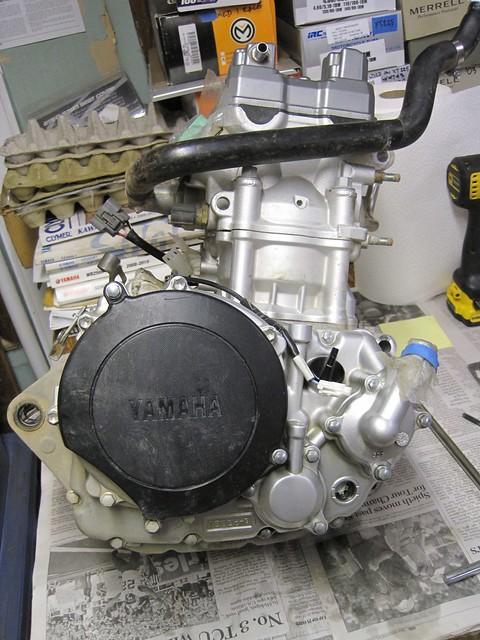 WR250R engine failure