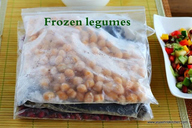 frozen legumes