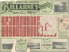 Killarney Townsite, 1912