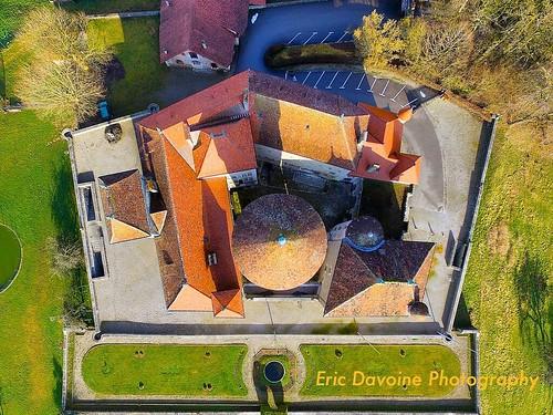 Château de MONTROTTIER sous un autre angle !!! #chateau #history #mystyle #beautiful #photographe #ciel #dron #history #jardin #garden #drone #dji #aerial