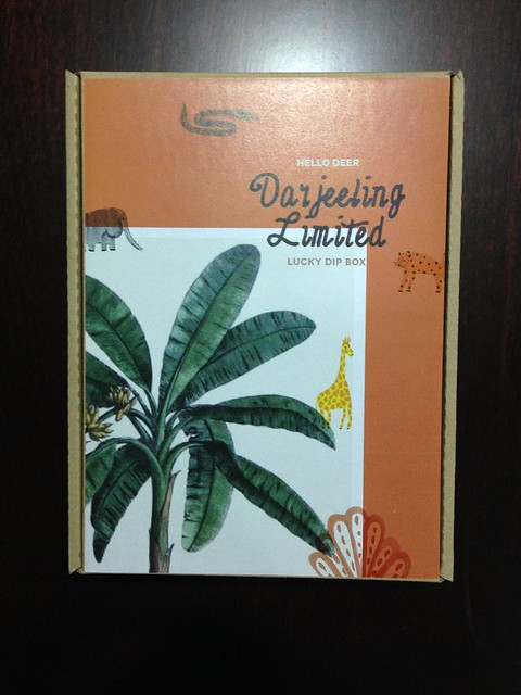 Hello deer surprise box - Darjeeling limited