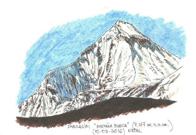 Dhaulagiri (8.167 m.s.n.m.)