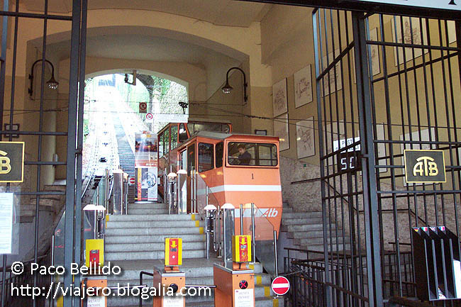 Funicular de Bérgamo. © Paco Bellido, 2006