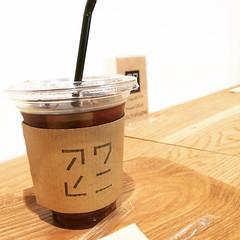 cold brew❤︎ #awahini #tenjinbashi #osaka #アワヒニ天満橋店  #天神橋 #大阪