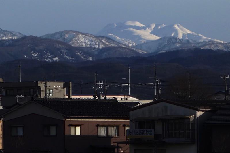 """Todays Mt, """"HAKUSAN"""""""