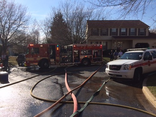 Gaithersburg House Fire – Two Dogs Rescued