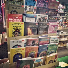 #books in #sunsetpark #brooklyn #santeria #vodoo #99centstore If you are like me, you are mildly superstitious. With that said, this store might be as interesting to you as it was to me. Located right next to the Pioneer grocery store on 5th Avenue betwee