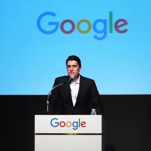 グーグル社の代表取締役、ピーター・フィッツジェラルドさんです。
