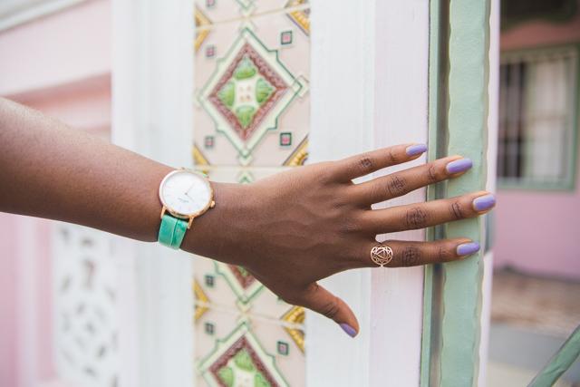 Kate Spade green watch