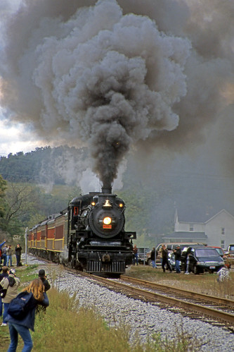 smoke steamtrain steamtrains passengertrains steamlocomotives ohiocentralrailroad ohiocentral1293 steamexcursions canadianpacific1293 pearlohio