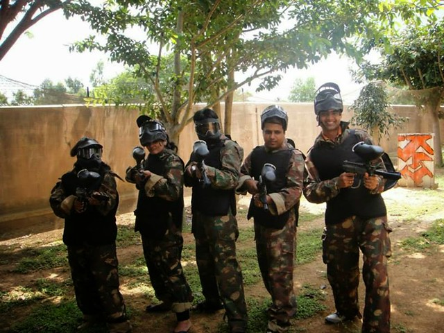 Paintball in Chennai - 40 Balls