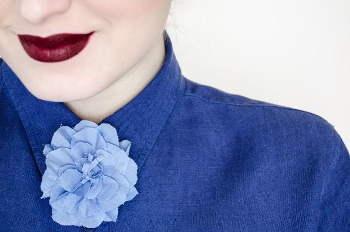 DIY Flor-pajarita inspiración Gucci • Fábrica de Imaginación