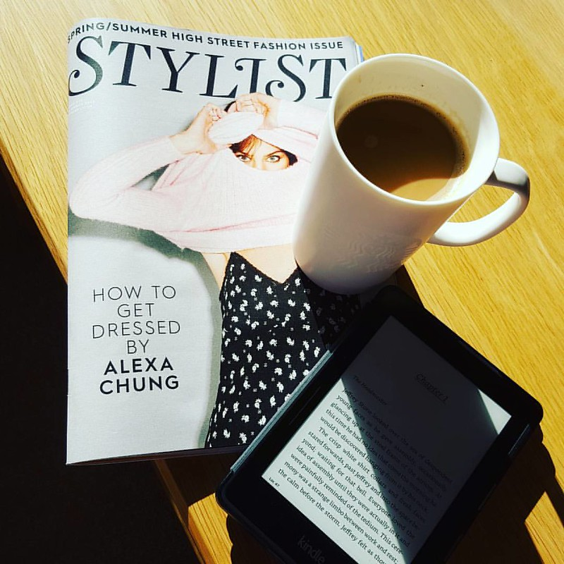 This is what bank holiday mornings are all about. #fashion #fashionmagazine #coffee #lifestyle #holiday