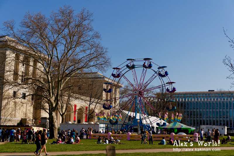 Ferris Wheel at Carnegie Mellon's Spring Carnival