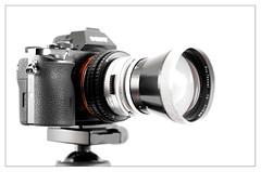 Carl Zeiss Pro Tessar; Contaflex > E-mount