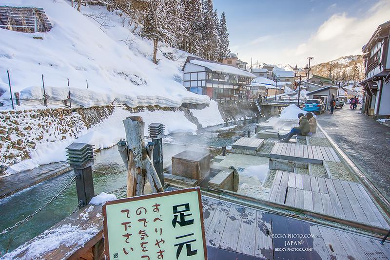 2016.Feb 日本山形県銀山溫泉ginzanonsen @Yamagata, Japan