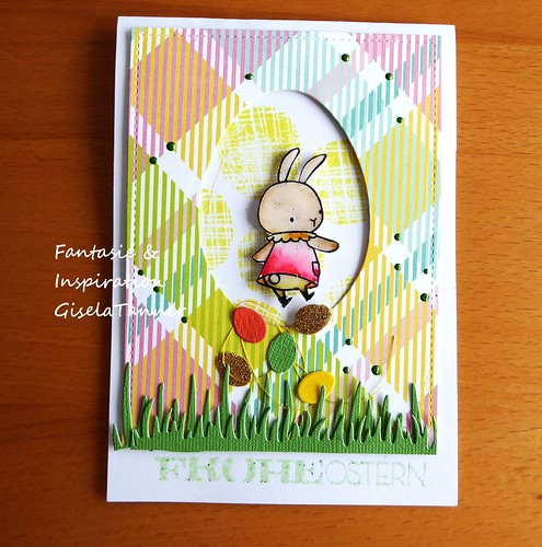Bunnys grüßen zu Ostern