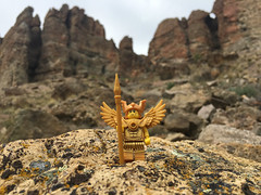 LEGO Collectible Minifigures Series 15 : Flying Warrior