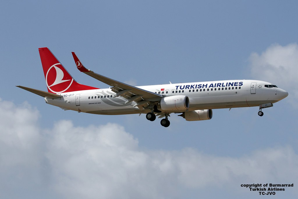 TC-JVO - B738 - Turkish Airlines
