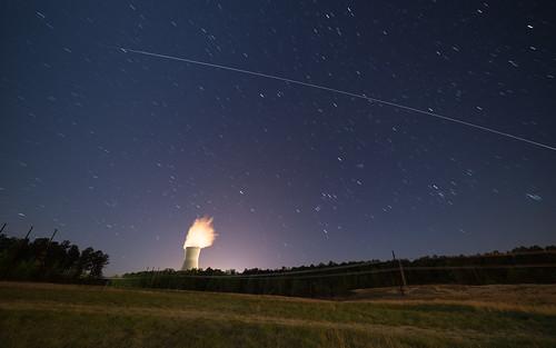 ISS over Shearon Harris