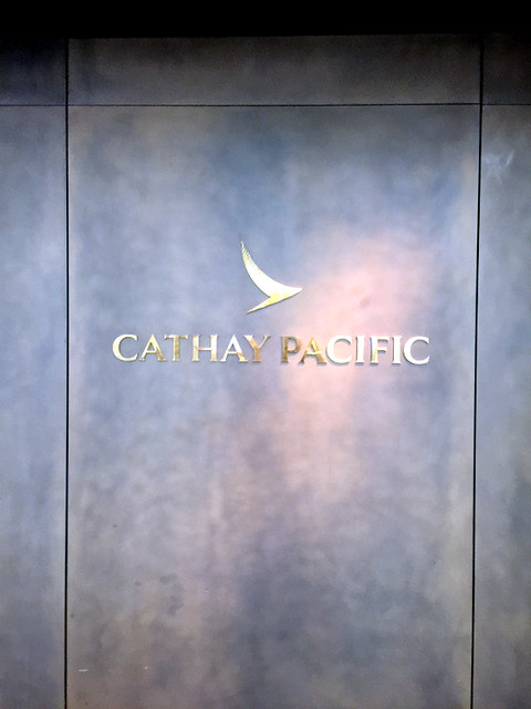 Cathay Pacific Manila Lounge