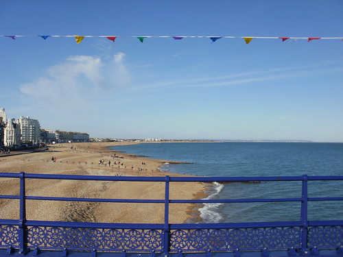 Eastbourne Pier view