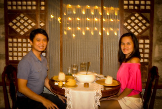 Dinner at Las Casas Filipinas de Acuzar