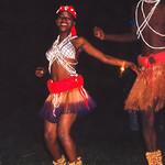 Les danseurs traditionnels Bantous
