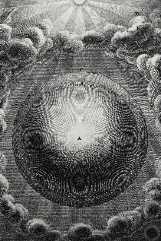 Oliver Medhurst presents Bowyer Bible print 0047 Creation Firmament Genesis 1 v 6- 8 Füssli engraved by Pintz