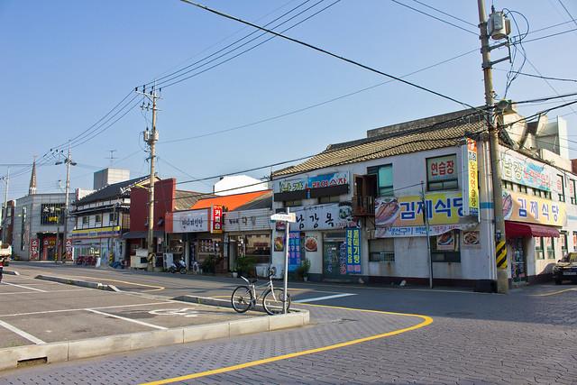 Japanese style buildings, Gunsan, South Korea