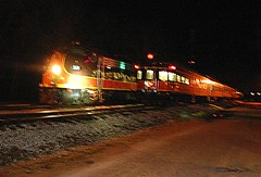 Trains passing in the night