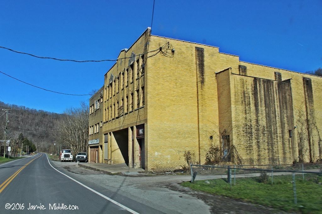 Abandoned Theater -- Drift, KY
