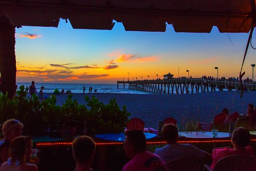 venice sunset us unitedstates florida osprey sharkysonthepier